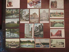 Set of 18! Vintage United States Postcards: early 1900's!