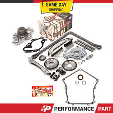 Timing Chain Kit GMB Water Pump Oil Pump Cover Gasket for 02-06 Dodge Chrysler