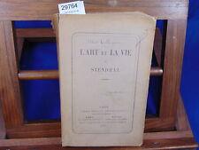 Collignon L'art et la vie de Stendhal...