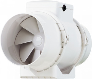 Xpelair XIM X 125+ Inline Mixed Flow Duct Fan Operated By Remote Switch IPX4