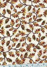 Cuarto gordo caída de cosecha hojas otoño 100% Cotton Quilting fabric