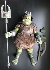 Sideshow Star Wars 1/6 Scale Jabba's Gamorrean Guard - LOOSE