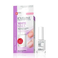 Eveline Professional Nails Nail Instantly Whitener Conditioner Therapy 3 in 1