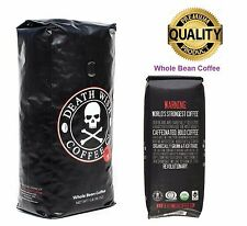 Death Wish Coffee,The World's Strongest Coffee, Fair Trade and USDA - Whole Bean