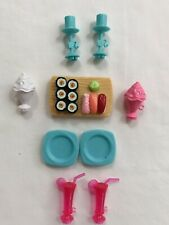 Barbie Doll Accessories Dream House Food & Drinks SUSHI Dinner