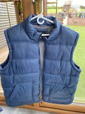 Cedar Wood State Navy Blue Sleeveless Padded Jacket Size XXL