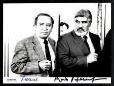 Mario Adorf und Hans Clarin Original Pressefoto Original Signiert ## G 11269