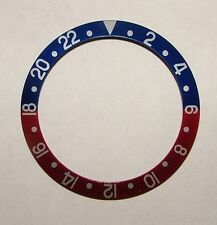 Bezel Insert 16750-6 Red/Blue/silver Pepsi For Rolex