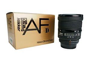 Nikon AF-D Nikkor 28mm f/1.4 ED Lens
