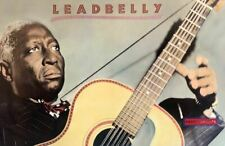 Leadbelly The Blues In Color Rare Poster 22.5 x 34.5