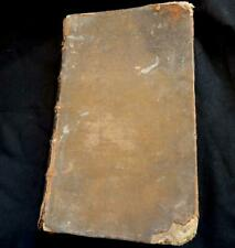 Very rare antique English Dictionary 1769 hardback-N.Bailey