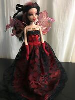 OOAK One Of A Kind Custom Fashion Painted Barbie Doll Figure - Fantasy Queen