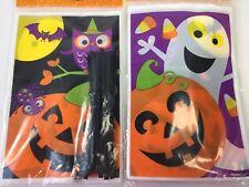 25 ct BAT Halloween Treat Bags with ties