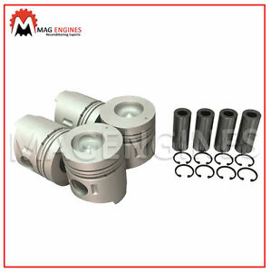 PISTON & RING SET MITSUBISHI 4D31 4D31-T FOR CANTER FUSO TRUCK 3.3 LTR DIESEL