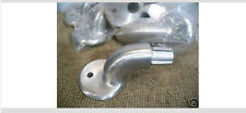 """New listing 4 Aluminum Hand Railing Wall Mounts for 1-5/8"""" Od Pipe"""