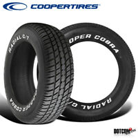 2 X New Cooper Radial G/T P215/70R14 96T Tires