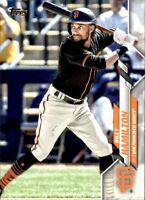 2020 Topps Update Billy Hamilton Base #285 - San Francisco Giants