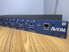 Aviom A-16T A-Net  00004000 Transmitter With Power Adapter