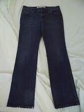 "9469 Womens Ann Taylor Loft Slim Boot Blue Stretch Jeans, size 8 x 31.5"" inseam"