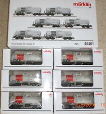 Märklin 46461 Set mit 6 Kesselwagen Aretz DB-Schenker Rail hier Zaes     NEU/OVP