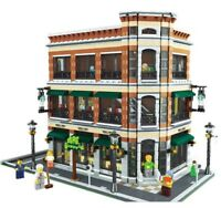LEGO Modular bookstore and starbuck CUSTOM Model. Instruction ONLY!