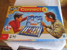 Connect 4 Hasbro u-build Game Construction USED