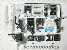 SET OF 14 Bernina VIRTUOSA SNAP-ON Presser Feet NEW