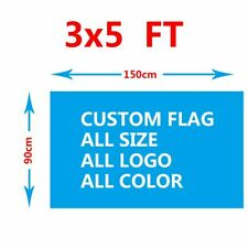 Custom Flag 3x5FT Send the Design First Success Whether it is Appropriate