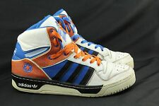 Mens ADIDAS Size 11 Star Wars Storm Trooper High Top Shoes Orange Blue