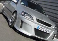 No logo grill for Astra G front black grill debadgeless gitter OPC grille GTC