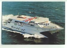 FE0559 - Hoverspeed Seacat Ferry - Hoverspeed Great Britain  built 1990 postcard