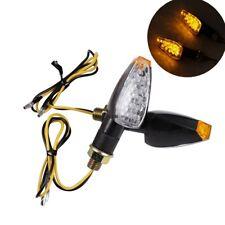 LED Turn Signals Amber Lights For Suzuki TS DR DRZ DR350 650 DL DRZ400 GSXR SV
