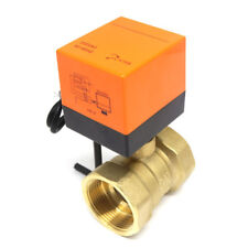 Electric Motorized Brass Ball Valve DN15 G1/2 AC 220V 2 Way 3-Wire with Actuator