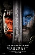 """Warcraft movie poster (a) World Of Warcraft poster  - 11"""" x 17""""  (2016)"""