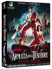 L'ARMATA DELLE TENEBRE  LIMITED EDITION   3 BLU-RAY+4 D