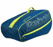 Babolat Rhx6 Club Tennis Racket Bag Racquet Blue Yellow Badminton Nwt 751140