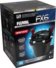 FLUVAL FX6 CANISTER FILTER With Media, Sponge, Bio max Complete Package A219