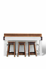 IHR Aust prep ISLAND BENCH Butchers block sidegrain SHELVES/STOOLroom MASTERCHEF