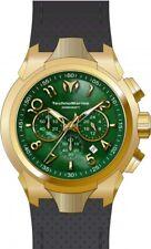 Technomarine TM-718006 Sea Mens 48mm Chronograph Gold-Tone Steel Green MOP Watch
