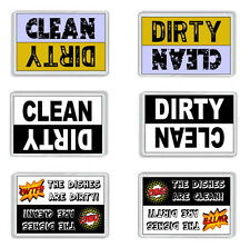 Dishwasher Clean /Dirty Magnet *Novelty Kitchen Gift* 3 designs to choose from