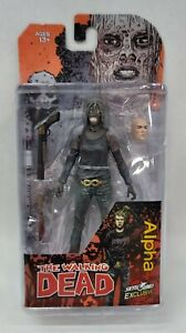 THE WALKING DEAD SKYBOUND EXCLUSIVE ALPHA Action Figure Bloody