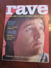 Rave #7 1964 PJ Proby Beatles Rolling Stones Yardbirds Patti Boyd fashion