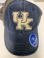 new arrival 9df5e 3be05 UNIVERSITY OF KENTUCKY UK HAT SNAPBACK NCAA LICENSED MESH BLUE CAMO WITH  FLAG