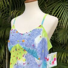 jams world Hawaii Camisole Xl Nwt