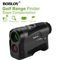 BOBLOV 6X22 Golf Jagd Entfernungsmesser Hang USB aufladen 600m Entfernungsmesser