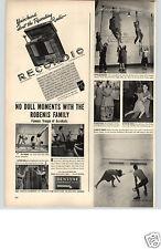 1940 PAPER AD ARTICLE recordioWilcox-Gay Recorder Radio Phonograph Combination