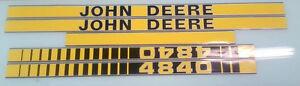 John Deere 4840 Hood Decals