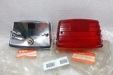 Suzuki TRS fit TR TR125 Taillight Tail Light Lens and Base NOS Genuine