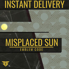 Destiny 2 Misplaced Sun Emblem Code ★INSTANT DELIVERY★ [PS4/PS5/Xbox/PC]