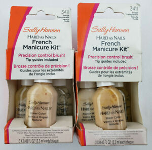 Sally Hansen Hard As Nails French Manicure Kit - You Choose